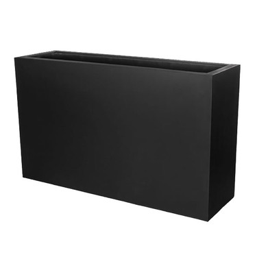 Sandal Planter Box (fiberglass in black finish)