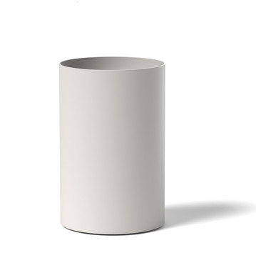 Silo Planter Solo- ALUMINUM Linen White