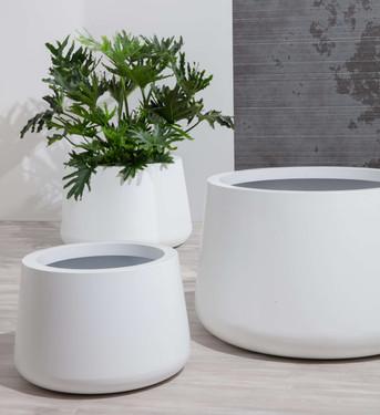 Bulb Planter Grouping - ALUMINUM - Linen White