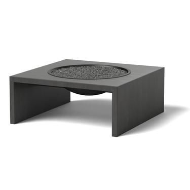 Basin Firepit: Zinc Frame, Black Bowl