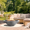 Embarcadero Fire Pit (GFRC in pewter finish)