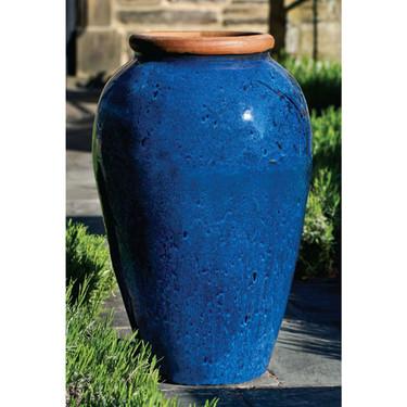 Binjai Jar (Rustic Blue Glaze Terracotta)