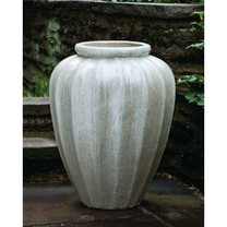 Edo Jar (Terra Cotta in Antique Pearl Glaze)