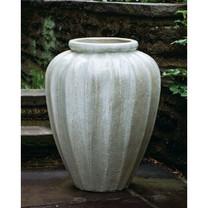Edo Jar (Terra Cotta in Antique Pearl Glaze)