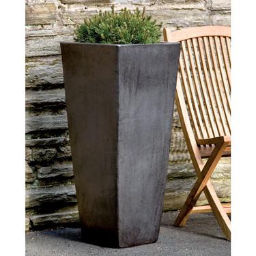 Faro Planter (Terracotta in Graphite Glaze)