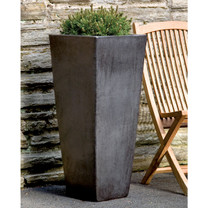 Faro Planter (Terracotta in Graphite Glaze)