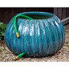 Gresham Ribbed Hose Pot (Terracotta in Art Pottery Glaze)
