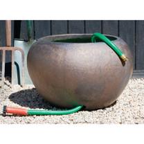 Hose Pot (Terracotta in Bronze Glaze)