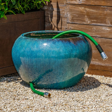 Hose Pot (Mediterranean Blue)