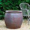 Mai Planter (Terracotta in Asian Earthenware Glaze)