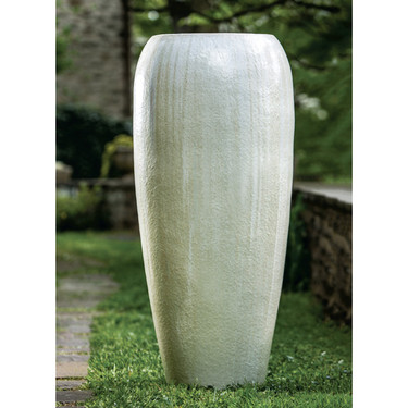 Marisol Jar (Terracotta in Antique Pearl Glaze)