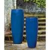Sabine Planter (Terracotta in Riviera Blue Glaze)