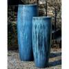 Sabine Planter (Terracotta in Blue Pearl Glaze)