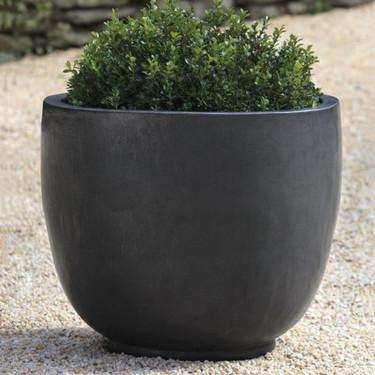 Sem Planter (Terracotta in Graphite Glaze)