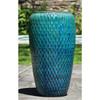 Talavera Jar Planter (Terracotta in Weathered Copper Glaze)