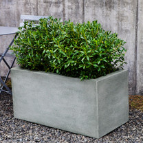 Metropolis Rectangle Planter (Glass Fiber Reinforced Concrete in Alpine Stone Finish)
