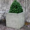 Metropolis Cube Planter (Glass Fiber Reinforced Concrete in Alpine Stone Finish)