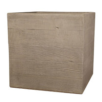 Aspen Square Planter (Glass-fiber reinforced concrete in Autumn Beige Finish)