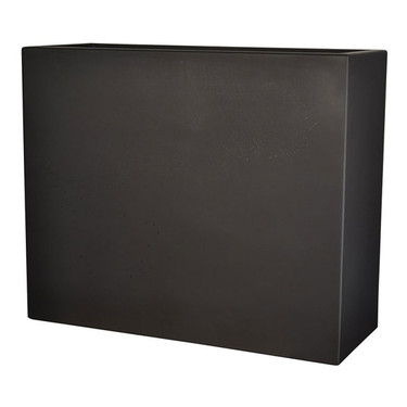 Manhattan Rectangle Planter (Gun Metal Metallic finish)