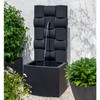 Rio Fountain - Cast Stone in Nero Nuevo finish