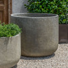 Tribeca Planter - Cast Stone in Greystone Finish