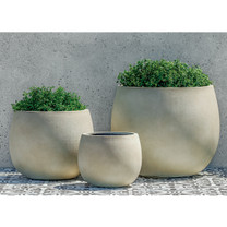 Cambridge Planters (fiberglass in ivory finish)