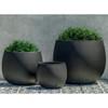 Cambridge Planters (fiberglass in black finish)