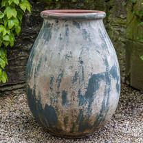 Appia Antica Jar (Terracotta in Vicolo Terra Glaze)