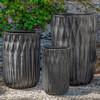 Brera Planters (Terracotta in Graphite Glaze)