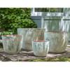 Cantagal Planters (Terracotta in Vicolo Terra Glaze)
