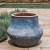 Del Corso Planter (Terracotta in Vicolo Mare Glaze)