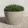Design.Urb Series 2 Planter 24in DIA. - Cast Stone in Greystone Finish