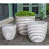Linea Planters (Terracotta in Pearl Finish)