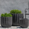 Maris Planters (Terracotta in Volcanic Coral Finish)