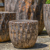 Navigli Planter Detail (Terracotta in Angkor Glaze)