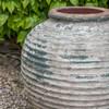 Palatine Jar Detail (Terracotta in Vicolo Terra Glaze)