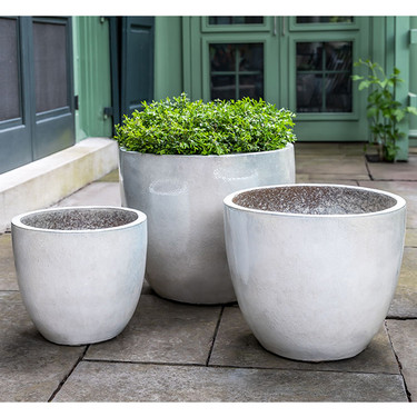 Rafi Planters (Terracotta in Pearl Gloss Glaze)
