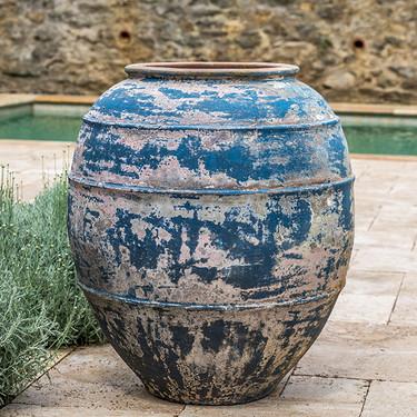 Trastevere Planter (Terracotta in Vicolo Mare Glaze)