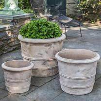 Classic Orangerie Planters: Terracotta in Antico finish