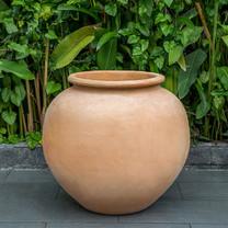 De Vesian Jar: Terracotta in natural finish