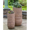 Madera Tall Planters (Terracotta in Antico Finish)
