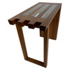 Canti Side Table - Ash Medium Thermal Wood Oil Finish