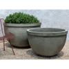 Huntington Bowl Planter (cast stone in alpine stone finish)