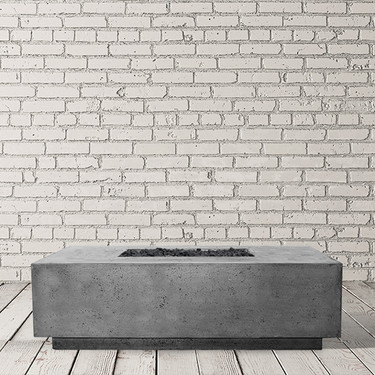 Tavola 7 Fire Table (GFRC in pewter)