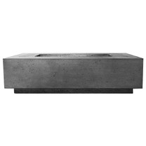 Tavola 8 Fire Table (GFRC in pewter)