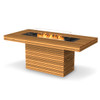 Gin 90 Bar Fire Pit Table (Teak)