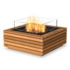 Base 30 Fire Pit Table (Teak with Gas Burner)