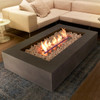 Bioethanol Indoor Wharf 65 Fire Pit Table (Concrete in Natural)