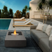 Manhattan 50 Fire Pit Table (Concrete in Natural)
