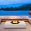 Martini 50 Fire Pit Table (Concrete in Bone)